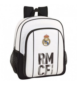 Mochila 38 cm Adaptable Real Madrid