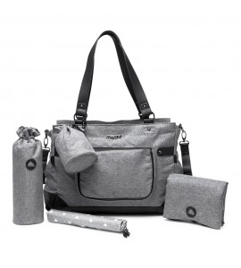 Bolso Bebe Mayoral Silver Cloud Gris