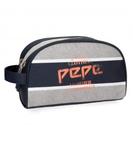 Neceser Pepe Jeans Pierre doble compartimento adaptable a trolley