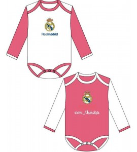 Pack 2 Body Real Madrid Niña
