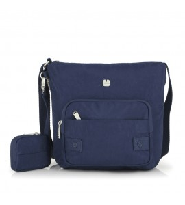 Bolso Expandible Mujer Gabol West Azul