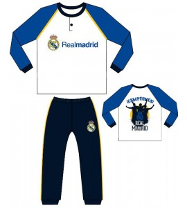 PIJAMA INFANTIL REAL MADRID