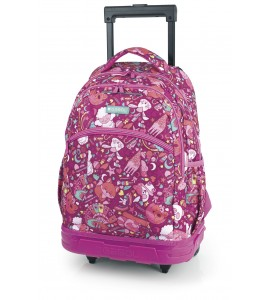 Mochila Trolley Gabol Toy Rosa