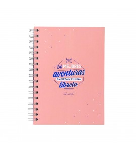 Mr. Wonderful Libreta