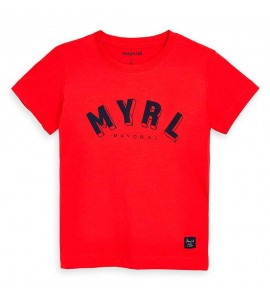 Camiseta  smile niño Mayoral