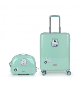 Set 2 Maletas C+M+B  Mr.Wonderful Mint