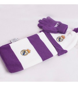 Set gorro y bufanda Real Madrid