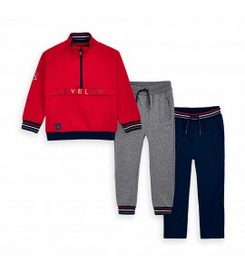 Chandal 2p Pullover Mayoral Niño Cherry