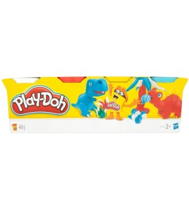 PLASTILINA PLAY DOH PACK4