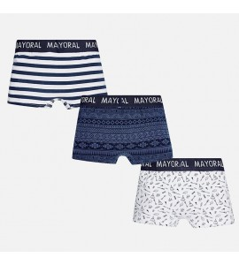 Set 3 Boxer Estamapado Rayas Mayoral
