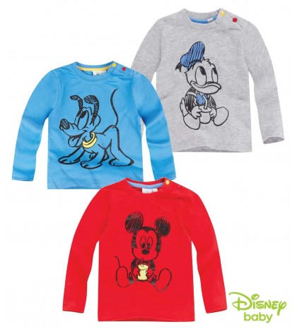 Niños Disney Cars Top Mangas Largas 3//24 meses