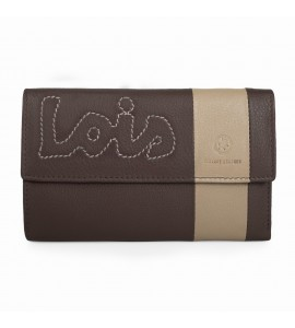 Billetero Mujer Lois Colors Marron