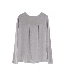 Camiseta Lisa Newness Junior Niña Gris