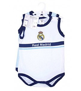 Pack 2 Body Manga Corta Real Madrid 12 Meses