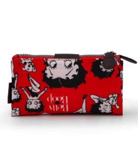 Billetero Betty Boop Rojo