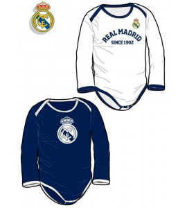 Pack Real Madrid 2 Bodys Blanco y Azul