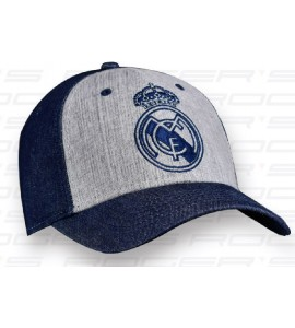 Gorra Adulto Real Madrid Denim